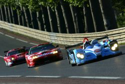 Courage LMP2 at Le Mans