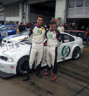 Sharpe and Smith win the VLN Series at the Nurburgring